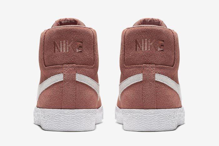 Nike Sb Blazer Dusty Peach Heels