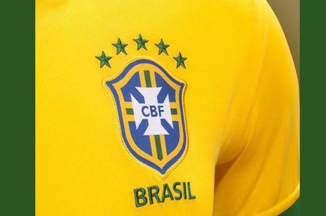 Nike Football Brazil Home Jersey Emblem 1