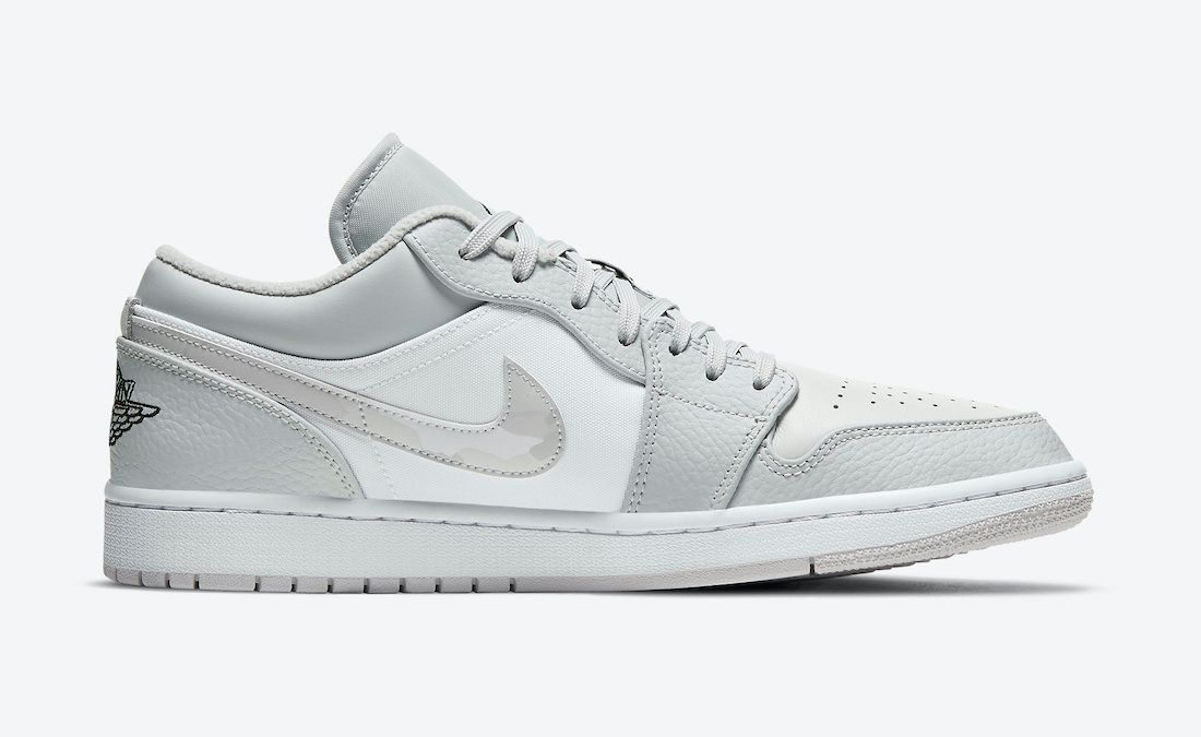 Air Jordan 1 Low White Camo Right