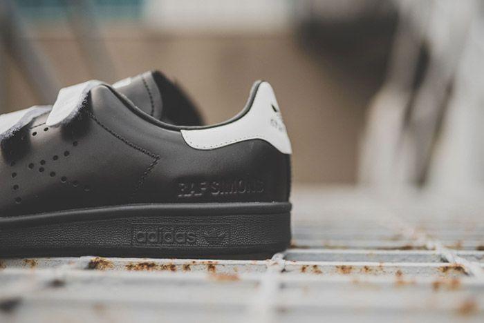Raf Simons Adidas Stan Smith Comfort Black White 2
