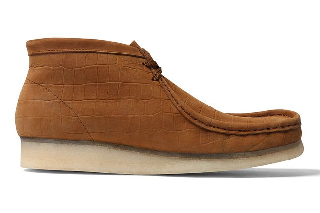 Supreme X Clarks Wallabee Boot Brown Side 1