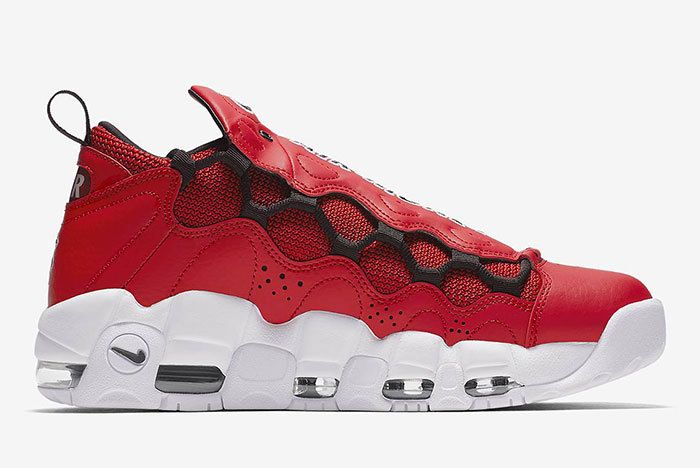 Nike Air More Money Red 3