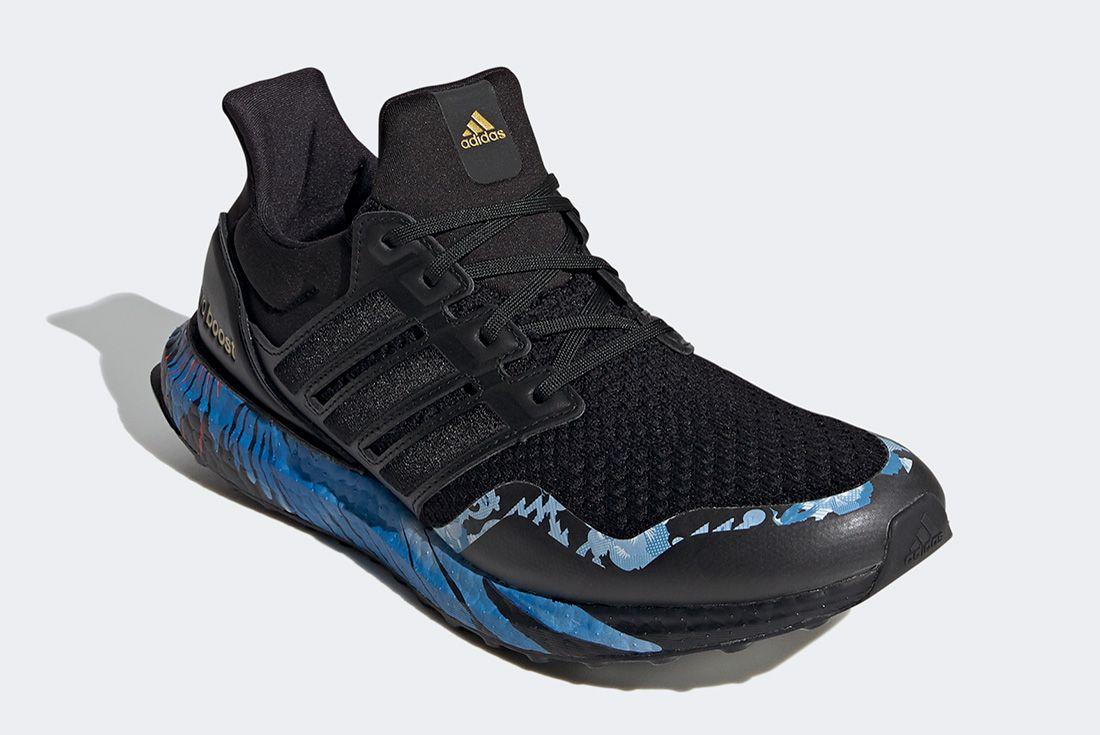 Adidas Ultraboost Cny Black Blue Front