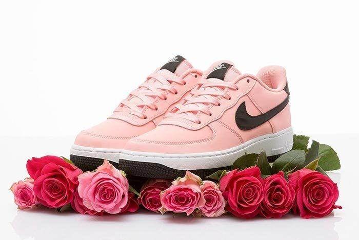 Nike Air Force 1 Valentines Day Bleached Coral Pair