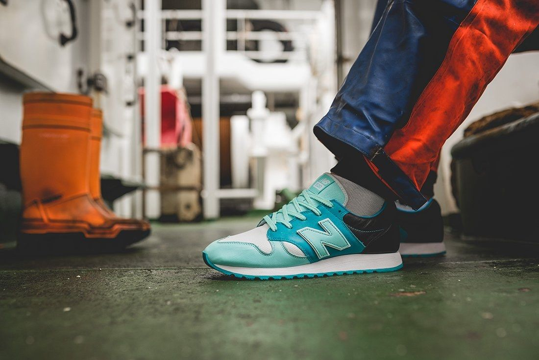 Hanon X New Balance U520 Hnf Fishermans Blues 12