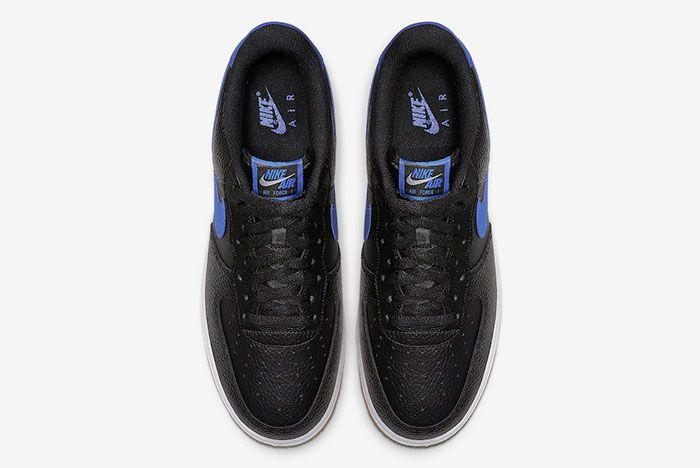 Nike Air Force 1 Black Game Royal Gum Ci0057 001 Top