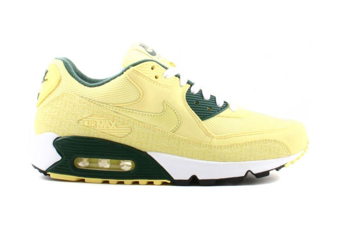 Nike Air Max 90 Powerwall Lemonade 314206 771 Lateral