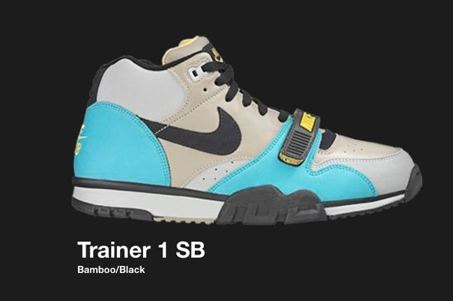 Nike Air Trainer 1 Bamboo Black Sb 2006 2