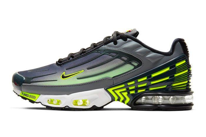 Nike Air Max Plus 3 Lemon Venom Left