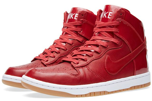 Nike Dunk Lux Gym Red 1
