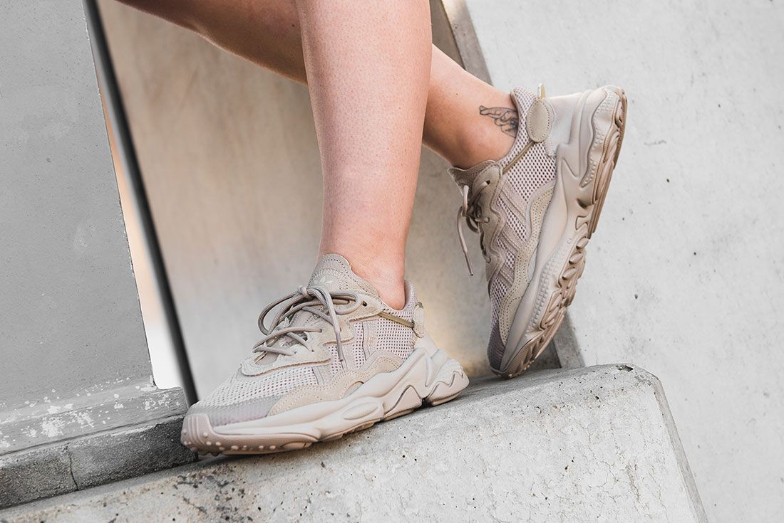 Adidas Ozweego Brown Jd Sports Exclusive Pair1 On Foot