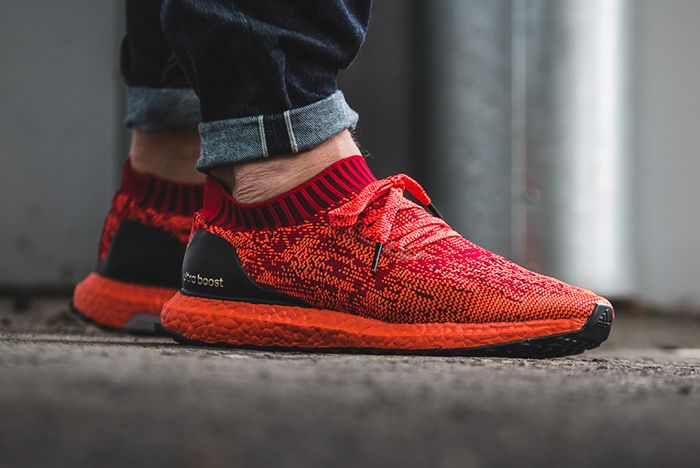 Adidas Ultraboost Uncaged Triple Redfeature