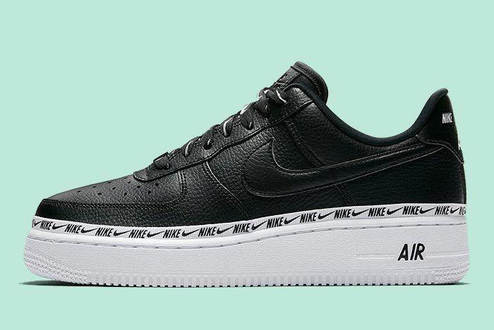 Nike Wmns Af1 Logos Black 7