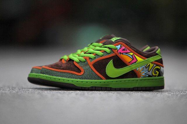 Nike Sb De La Soul Low