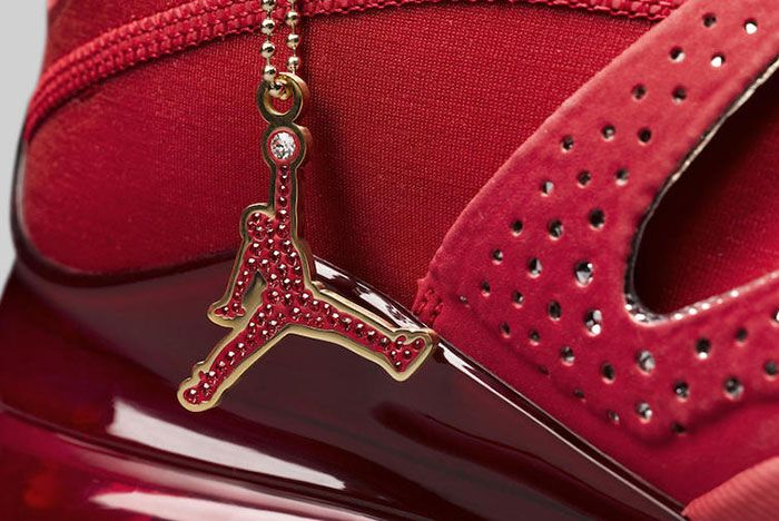 Swarovski Jordan Air Latitude 720 Red Ci1233 607 Jumpman Detail
