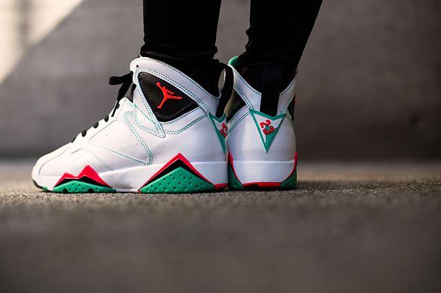 Air Jordan 7 Wmns Verde 2