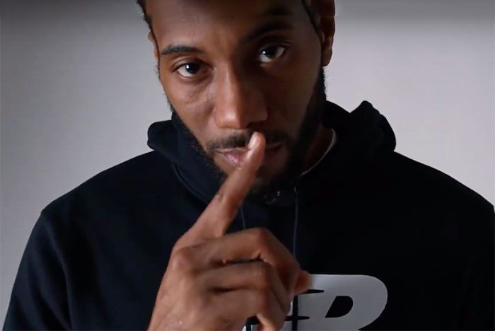 Kawhi Leonard Jaden Smith New Balance 997 Campaign 00 Screenshot