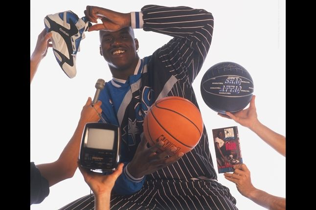 Reebok Shaq Launch Shaq Attack Ad 1