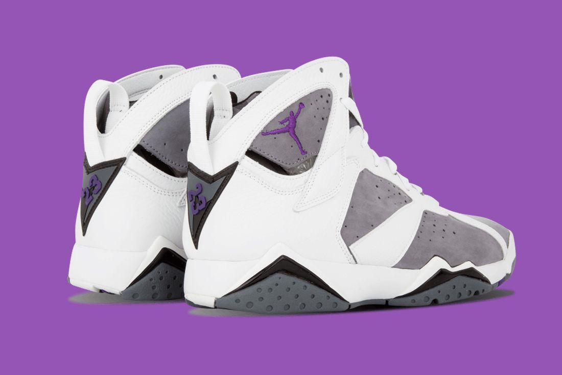 Air Jordan 7 Flint Heel