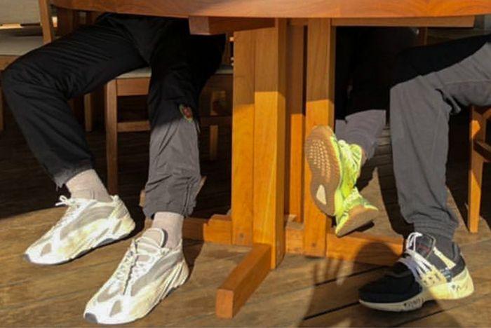 Kanye West Adidas Yeezy Wave Runner 700 Boost White Cream Grey Sneaker Freaker 4