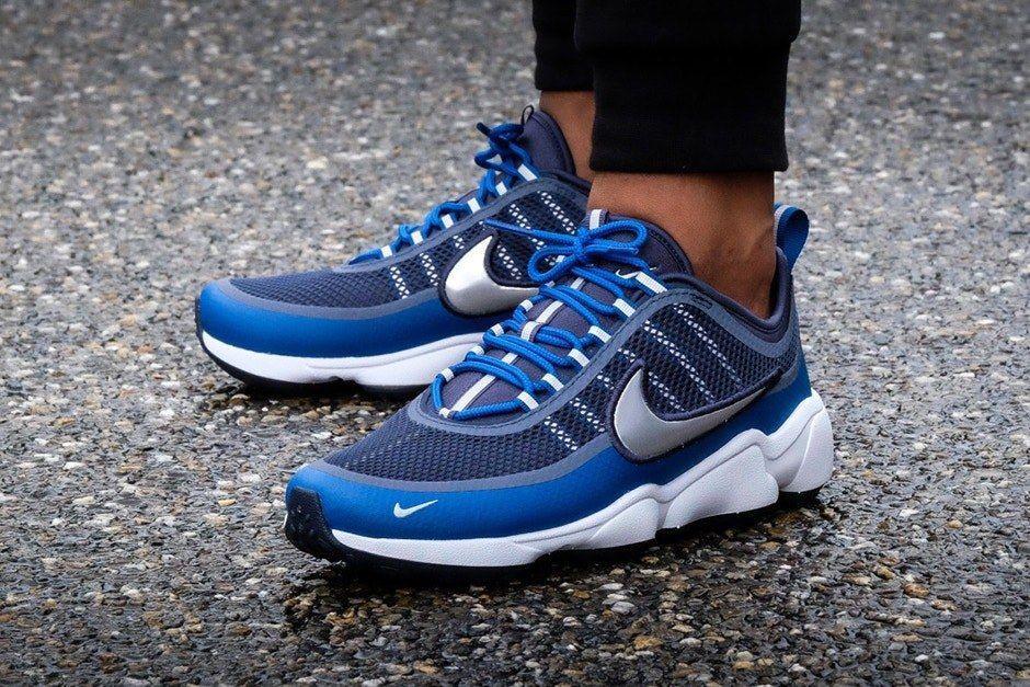 Nike Air Spiridon Ultra Metallic Silver Blue