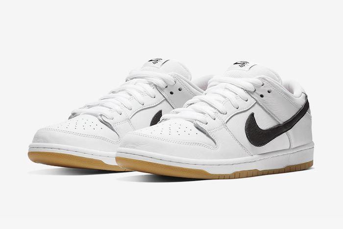 Nike Sb Orange Label Dunk White Gum Pair