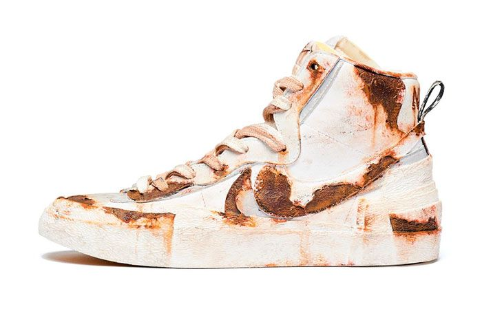 Sacai Nike Blazer Mid Rusted Left
