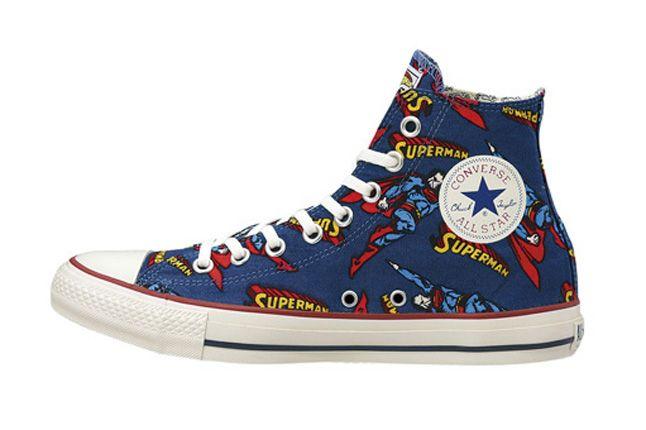 Converse Allstar Sm Hi Blue Superman 1