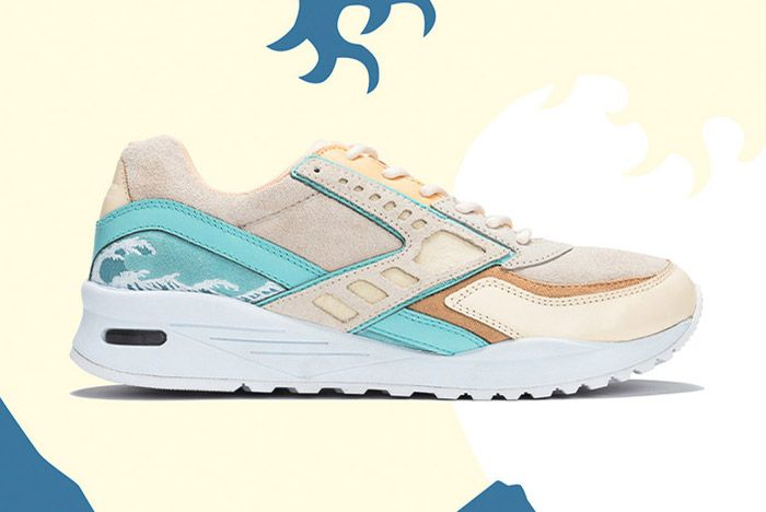 Pink Dolphin Brooks Regent Great Wave 1