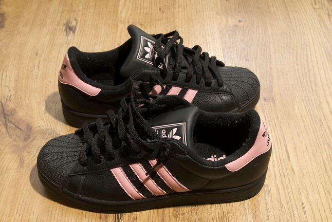 Adidas Superstar Black Pink 1