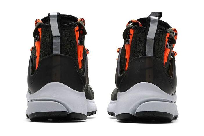Nike Air Presto Mid Utility Cargo Khaki Sequoia Black 3