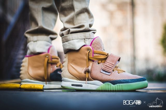 Nike Air Yeezy 2 Custom Maggi 3
