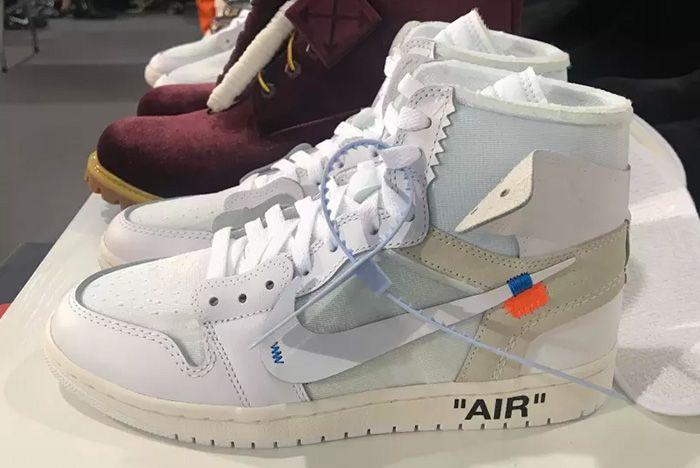 Off White X Nike Air Jordan 1 Virgil Abloh 2018 Sneaker Freaker 1