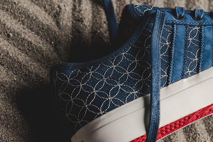 Adidas Matchcourt Rx Ltd Sashiko Blue 5