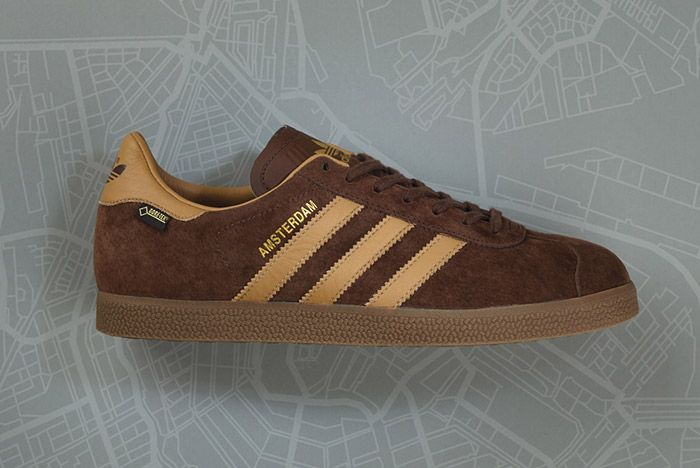Size Adidas Gazelle Gtx Amsterdam Brown 4