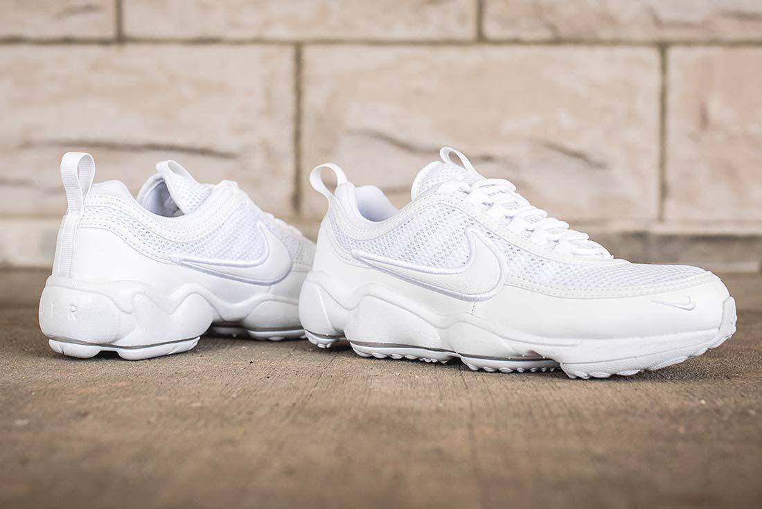 Nike Air Zoom Spiridon Ultra Triple White 5