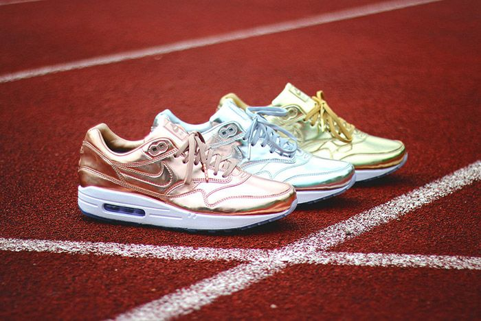Nike Id Air Max 1 Olympic Medals Pack