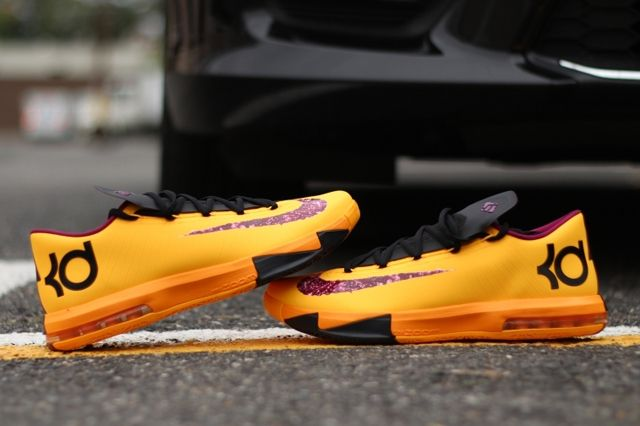 Nike Kd6 Peanut Butter And Jelly Pair