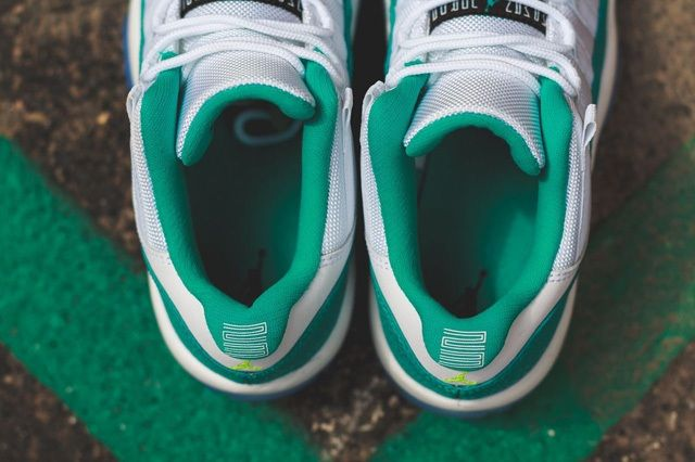 Air Jordan 11 Low Turbo Green Bump 4
