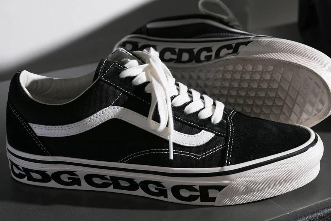 CDG Vans Old SKool