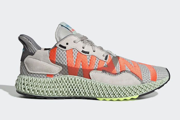 Adidas Zx 4000 4 D I Want I Can Lateral Side