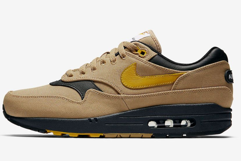 Nike Air Max 1 Premium Elemental Gold 875844 700
