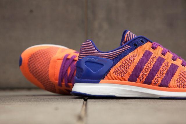 Adidas Primeknit Feather Womens Flash Orange 3