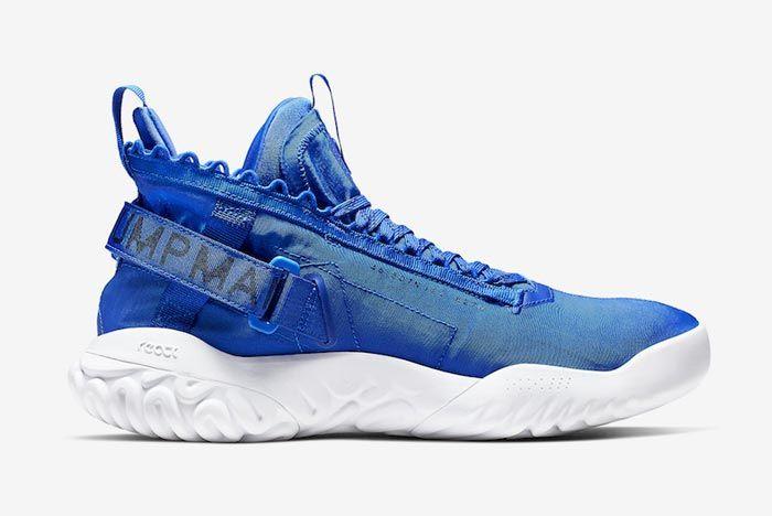 Jordan Proto React Blue White Medial