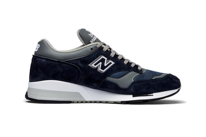 New Balance 1500 Made In England Grey Navy Medial