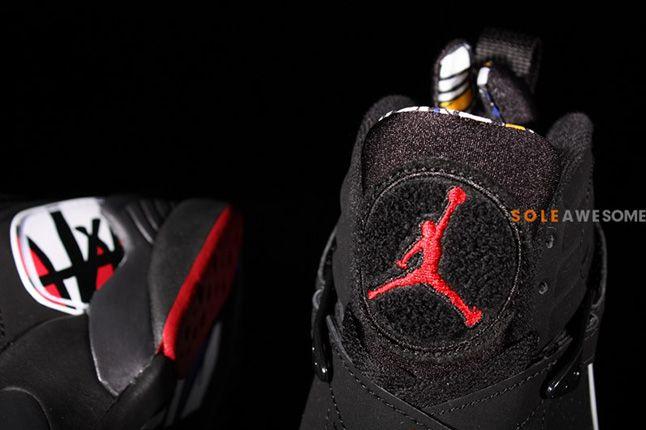 Air Jordan 8 Playoffs Details 1