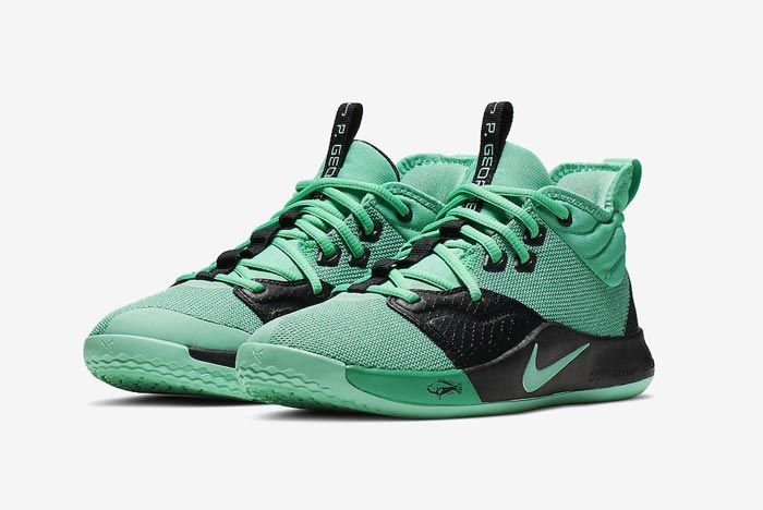 Nike Pg3 Menta Green Pair
