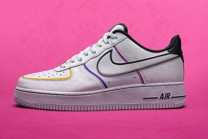 Nike Day Of The Dead Air Force 1 Lateral Side