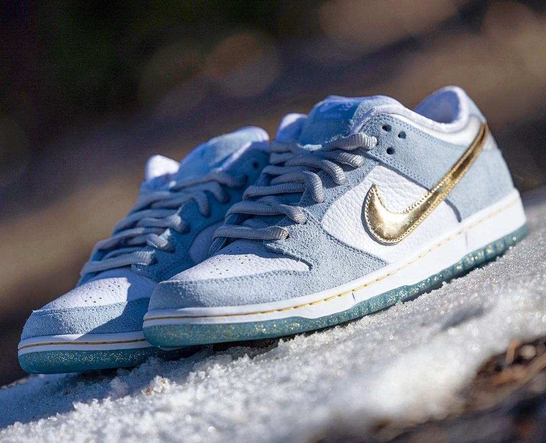 Sean Cliver x Nike Dunk Low 'Holiday Season'