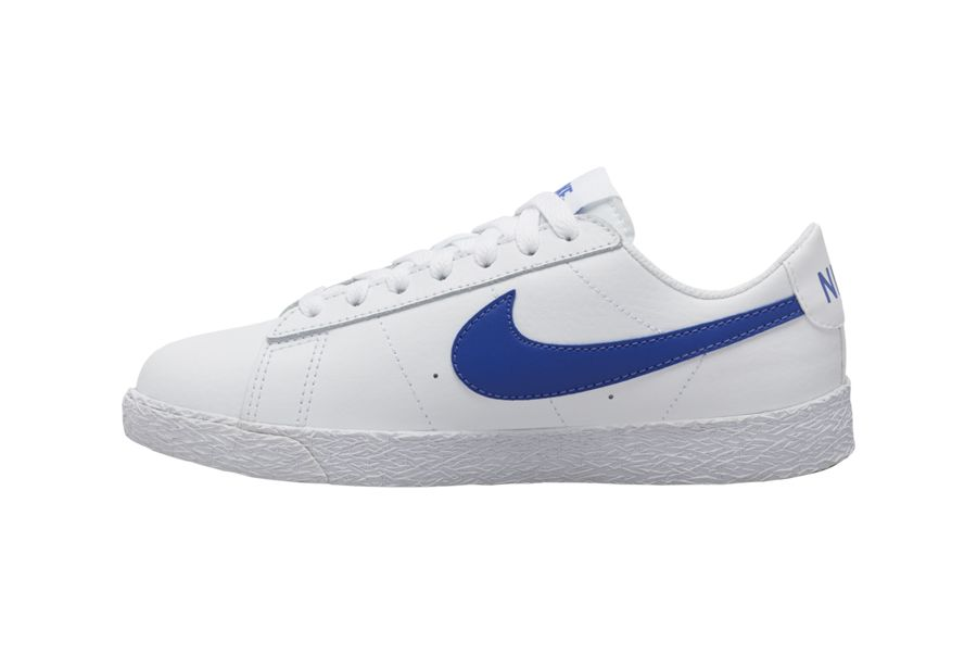 Nike Blazer Low Blue Left